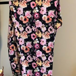 H&M - brand new floral trousers.